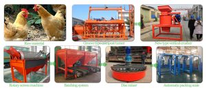 Organic fertilizer production machine