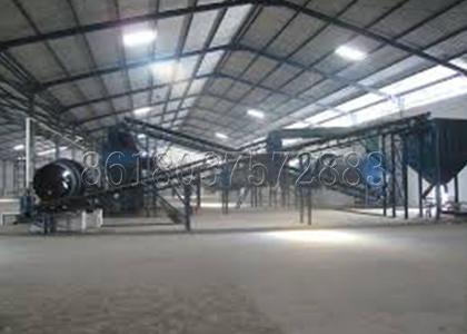 Fertilizer Plant for Producing Organic or Compound Fertilizer