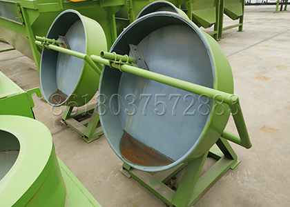 Pan Granulator for Poultry Manure Pelleting